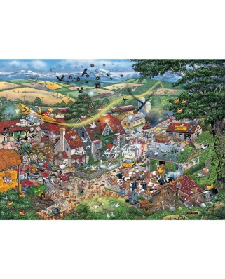 Puzzle Gibsons - I love the Farmyard, 1.000 piese (947)