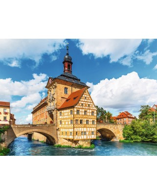 Puzzle Ravensburger - Bamberg, 500 piese (13651)