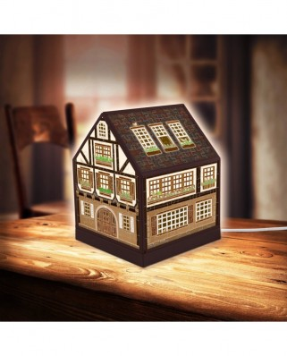 Puzzle 3D din plastic Pintoo - House Lantern - Half-Timbered House, 208 piese (R1006)