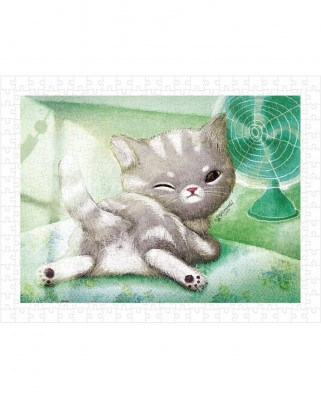 Puzzle din plastic Pintoo - A Chilly Day, 300 piese (H1594)