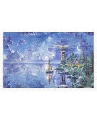 Puzzle din plastic Pintoo - Abraham Hunter: Light of Peace, 1000 piese (H2017)