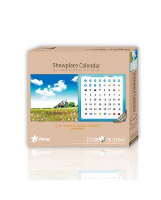 Puzzle din plastic Pintoo - Calendar Showpiece - A Fine Day, 200 piese (H1477)