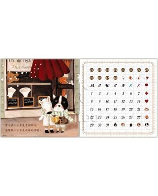 Puzzle din plastic Pintoo - Calendar Showpiece - Half, 200 piese (H1713)