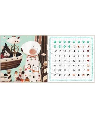 Puzzle din plastic Pintoo - Calendar Showpiece - Lighthouse, 200 piese (H1701)