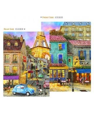 Puzzle din plastic Pintoo - Dominic Davison: Puzzle Cover - Paris Streets, 329 piese (Y1044)
