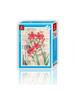 Puzzle din plastic Pintoo - Floral Pattern, 300 piese (H1583)