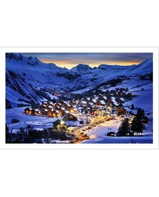 Puzzle din plastic Pintoo - French Alps, 1.000 piese (H1797)