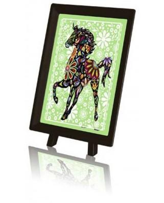 Puzzle din plastic Pintoo - Horse, 150 piese (P1126)