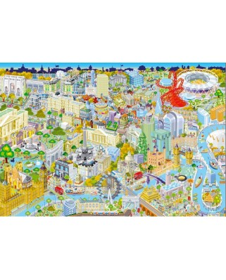 Puzzle Gibsons - London from Above, 500 piese (12248)