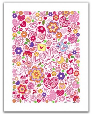 Puzzle din plastic Pintoo - Love Forever, 300 piese (H1484)