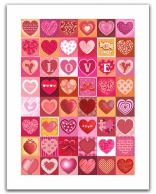 Puzzle din plastic Pintoo - Love, 300 piese (H1403)