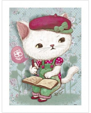 Puzzle din plastic Pintoo - Miss White, 300 piese (H1586)