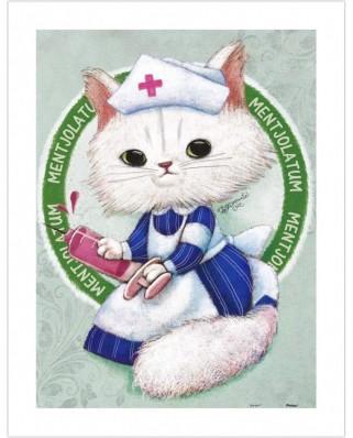 Puzzle din plastic Pintoo - Ms. Chiu Chiu the Nurse, 300 piese (H1681)