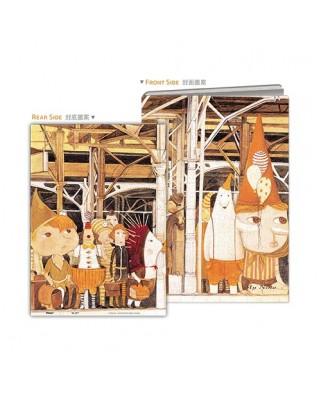 Puzzle din plastic Pintoo - Nan Jun: Puzzle Cover - Waiting Platform, 329 piese (Y1037)