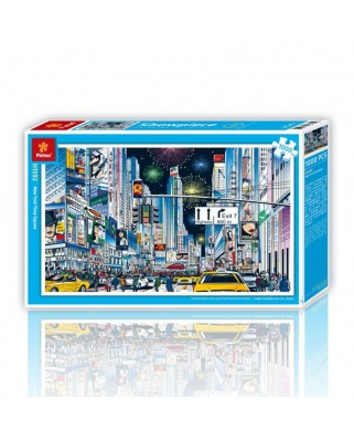 Puzzle din plastic Pintoo - New York City, 1.000 piese (H1592)