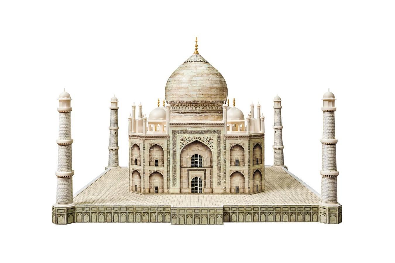 Puzzle 3D Ravensburger - Taj Mahal, 216 piese (12564)