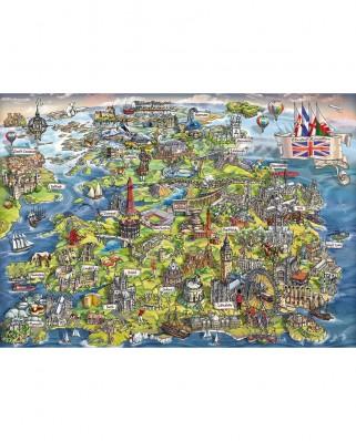 Puzzle Gibsons - Maria Rabinsky: Beautiful Britain, 1.000 piese (57595)