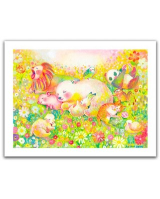 Puzzle din plastic Pintoo - Reina Sato: Sweet Dreams, 300 piese (H2110)