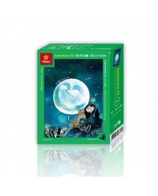 Puzzle din plastic Pintoo - Starry Night, 150 piese (P1105)