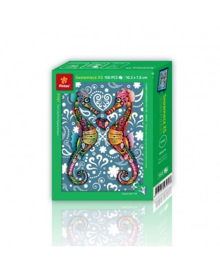 Puzzle din plastic Pintoo - The Colorful Hippocampus, 150 piese (P1107)