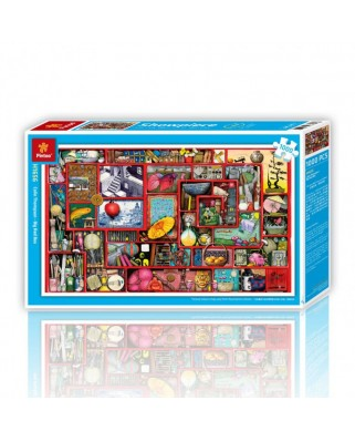 Puzzle din plastic Pintoo - The Labyrinth of Life, 1.000 piese (H1656)