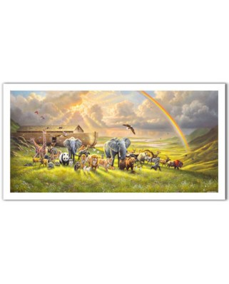 Puzzle panoramic din plastic Pintoo - Abraham Hunter: New Beginning, 800 piese (H2061)