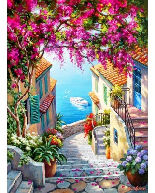 Puzzle Anatolian - Sung Kim: Stairs to the Sea, 1.000 piese (P1088)