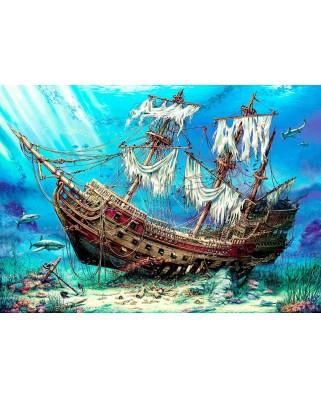Puzzle Anatolian - Shipwreck Sea, 1500 piese (P4558)