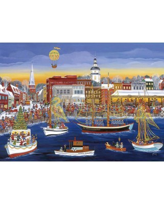 Puzzle Eurographics - Seaside Holiday, 300 piese XXL (8300-5402)