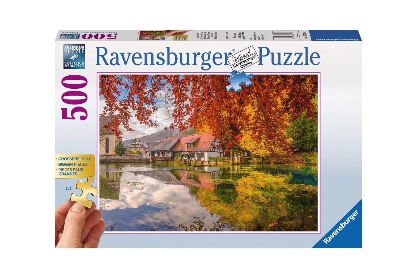 Puzzle Ravensburger - Moara, 500 piese (13672)