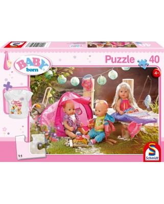 Puzzle Schmidt - Baby Born - Come On, Let'S Go Camping!, 40 piese (56297)