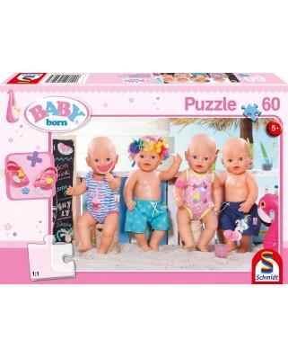 Puzzle Schmidt - Baby Born - In Summer, 60 piese (56298)