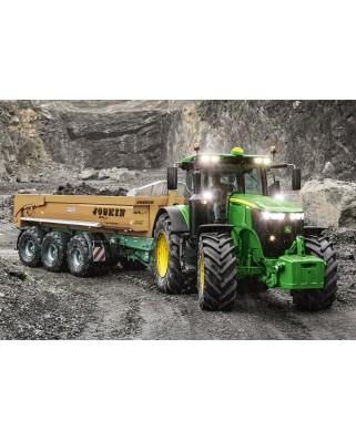 Puzzle Schmidt - John Deere Tractor 7310R, 60 piese (56314)