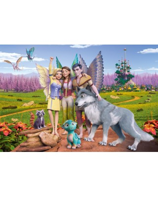 Puzzle Schmidt - Bayala - Land Of Elves And Dragons, 100 piese (56335)