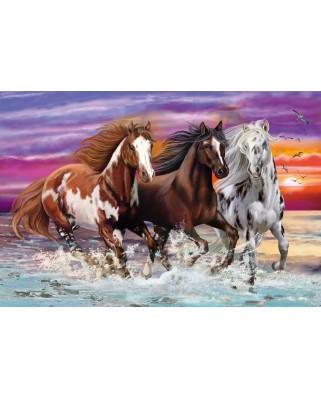 Puzzle Schmidt - Trio Of Wild Horses, 200 piese (56356)