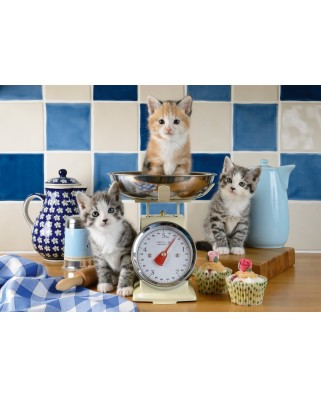 Puzzle Schmidt - Cats In The Kitchen, 500 piese (58370)