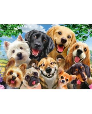 Puzzle Schmidt - Dog Selfie, 500 piese (58390)
