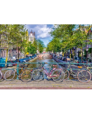 Puzzle Schmidt - Amsterdam, 500 piese (58942)