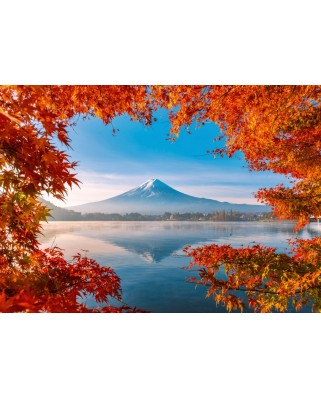 Puzzle Schmidt - Autumn Splendor Of Mount Fuji, 1.000 piese (58946)