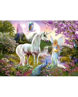 Puzzle Schmidt - Fairy And Unicorn, 2000 piese (58951)