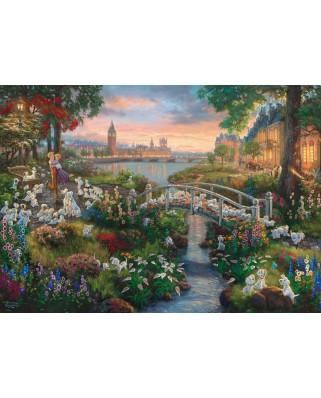 Puzzle Schmidt - Disney, 101 Dalmatians, 1.000 piese (59489)