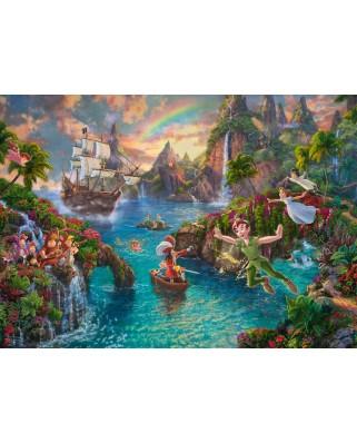 Puzzle Schmidt - Thomas Kinkade: Peter Pan, 1.000 piese (59635)