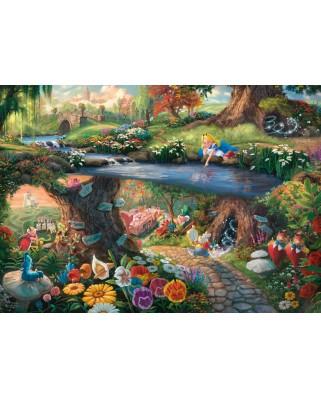 Puzzle Schmidt - Thomas Kinkade: Disney, Alice In Wonderland, 1.000 piese (59636)
