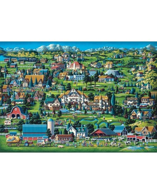 Puzzle Schmidt - Eric Dowdle: Midway, 1.000 piese (59640)