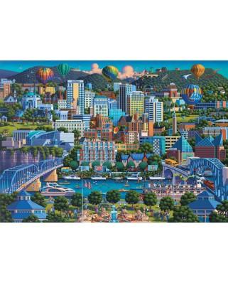 Puzzle Schmidt - Eric Dowdle: Chattanoga, 1.000 piese (59641)