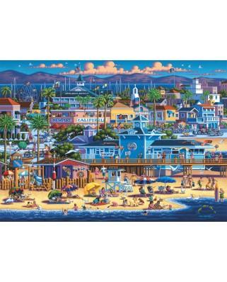 Puzzle Schmidt - Eric Dowdle: Newport, 1.000 piese (59642)