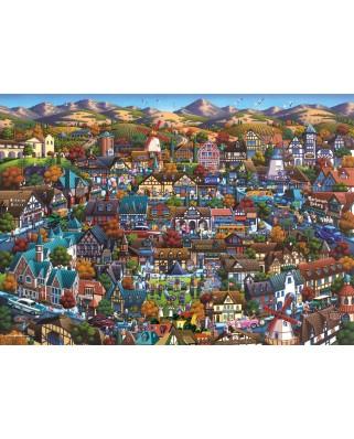 Puzzle Schmidt - Eric Dowdle: Solvang, 1.000 piese (59643)