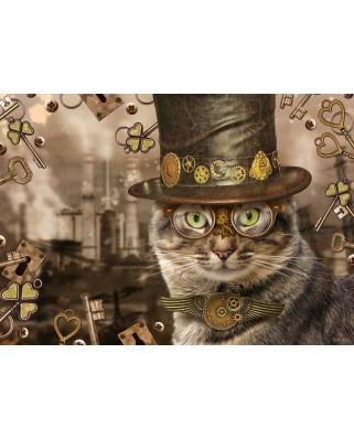 Puzzle Schmidt - Markus Binz: Steampunk Cat, 1.000 piese (59644)