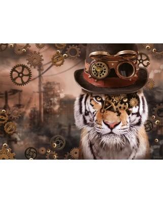 Puzzle Schmidt - Markus Binz: Steampunk Tiger, 1.000 piese (59646)