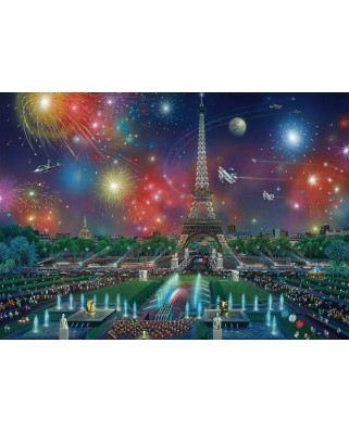 Puzzle Schmidt - Alexander Chen: Fireworks At The Eiffel Tower, 1.000 piese (59651)